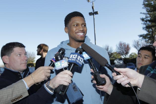 Rudy Gay Says $19 Million Option 'Isn't Really About the Money'