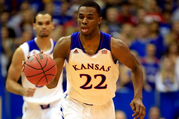 Andrew Wiggins Is Obvious No. 1 Pick Even If Kansas Continues to Struggle