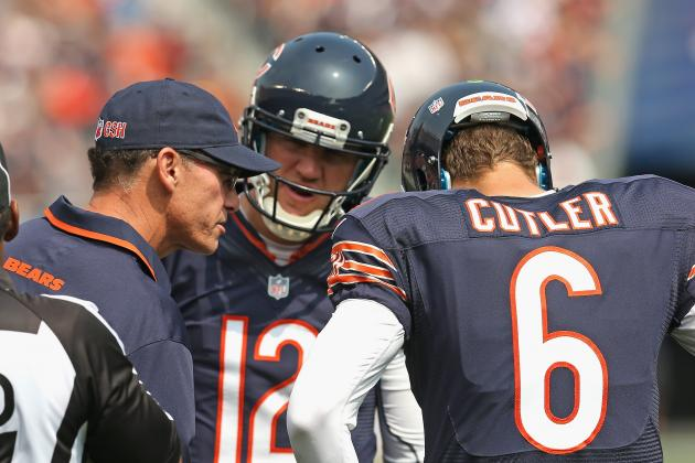 Chicago Bears Coach Mark Trestman Wrong to Start Cutler
