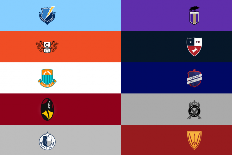 NFL Logos Redesigned to Look Like European Soccer Logos Part Two Has Emerged