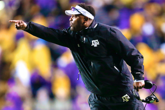 Texas A&M's Kevin Sumlin Is Perfect Man to Fix the NFL Mess in Washington
