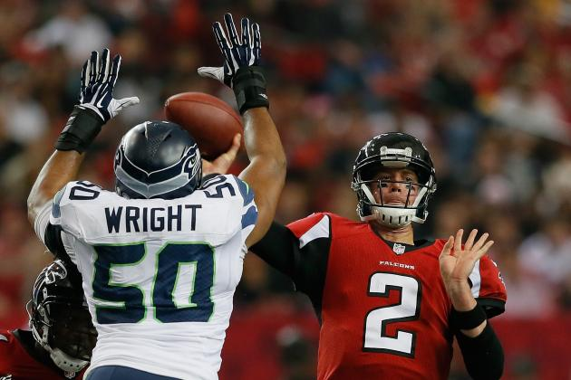 nfl Seattle Seahawks K.J. Wright GAME Jerseys