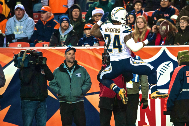 Ryan Mathews Finally Living Up to Potential for Red Hot Chargers