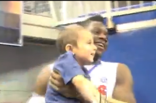 Florida's Will Yeguete Befriends Young Boy with Cancer (VIDEO)