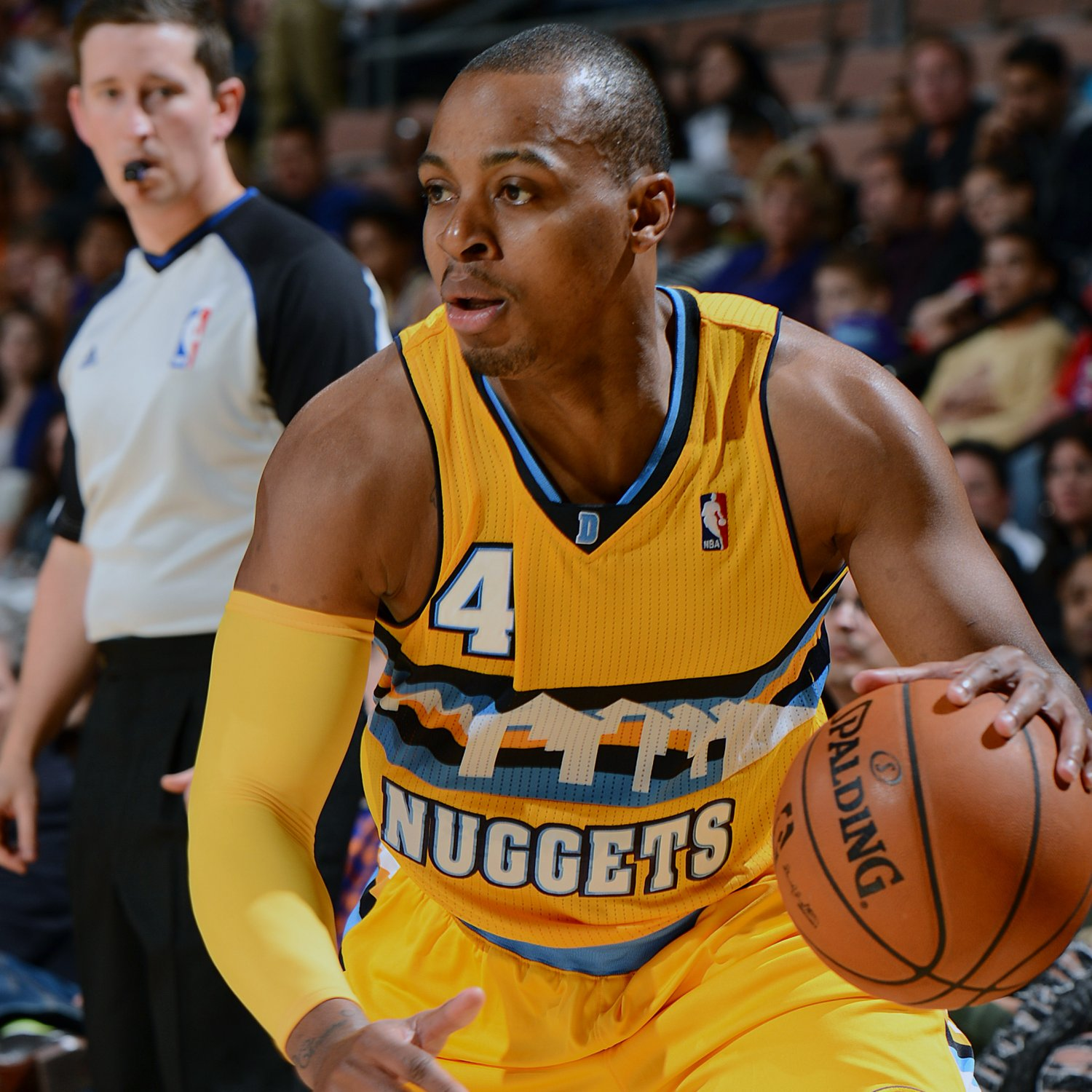 Nuggets' Randy Foye Rocks Leopard-Print Pants Before Game