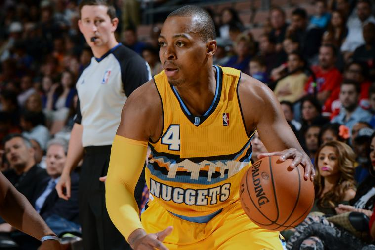 Nuggets' Randy Foye Rocks Leopard-Print Pants Before Game vs. Jazz