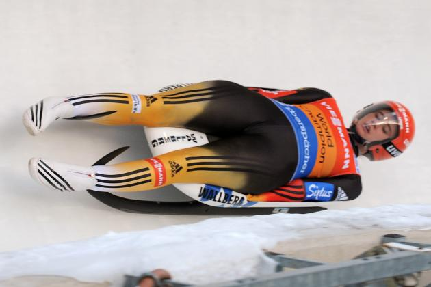 Geisenberger Stays Undefeated in WCup Luge