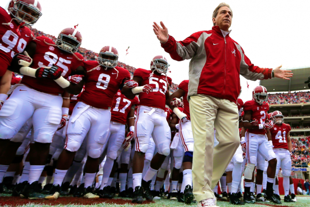 Nick Saban Signs Contract Extension with Alabama Crimson Tide