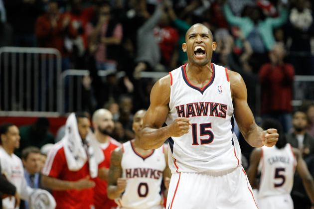 Watch Al Horford Hit Fadeaway Game-Winner at Buzzer for Atlanta Hawks