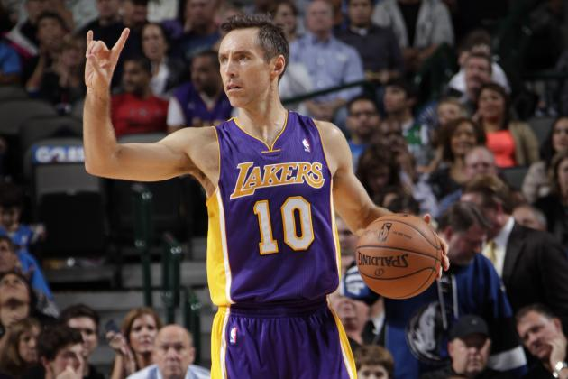 Best LA Lakers Options for Steve Nash Situation