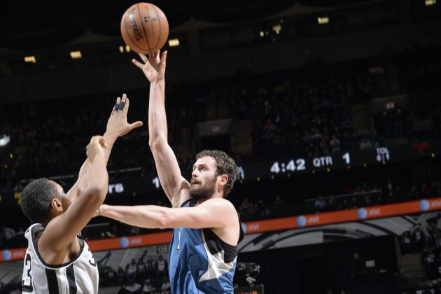 Analyzing Kevin Love's Huge Performance Against San Antonio Spurs