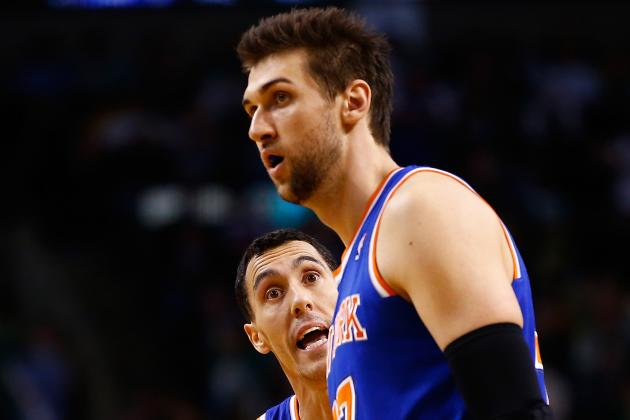 The Honeymoon Is Officially over for Andrea Bargnani and New York Knicks