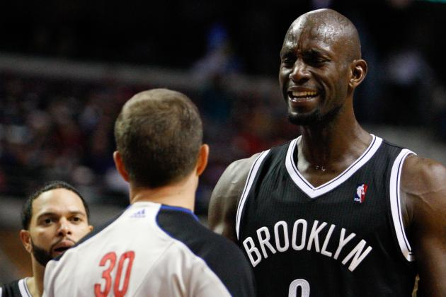 KG Becomes 10th Ever to Record 14,000 Rebs