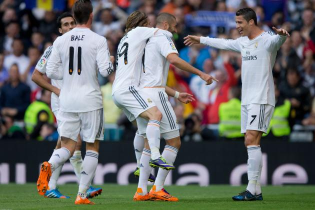 Osasuna vs. Real Madrid: Live Player Ratings for Los Blancos