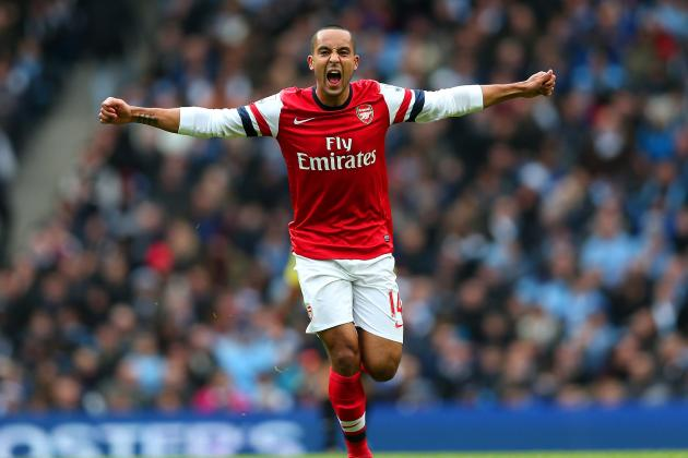 Analysing Theo Walcott's Performance vs. Manchester City