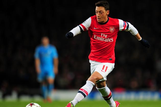 Analysing Mesut Ozil's Performance vs. Manchester City
