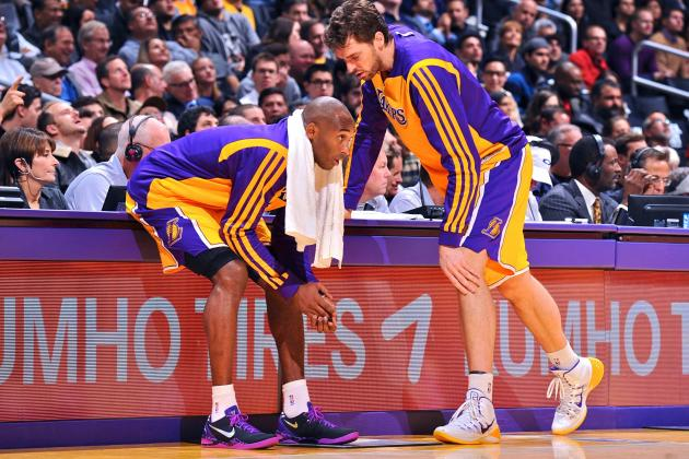 Kobe Bryant: Lakers' Hearts Are in the Right Place Despite Struggles