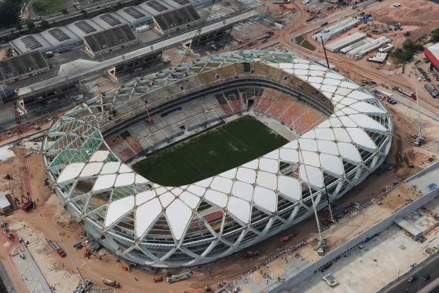 Worker Dies After Fall from Brazilian World Cup Stadium in Manaus