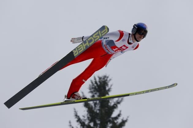 Morgenstern Wins Ski Jump World Cup Event