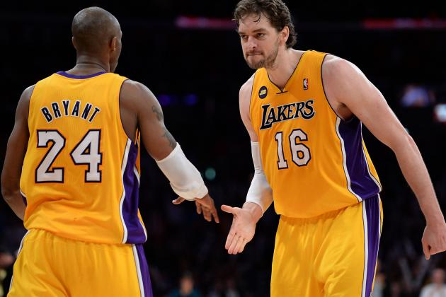 Kobe Bryant Looking out for Pau Gasol by Suggesting Weight Loss