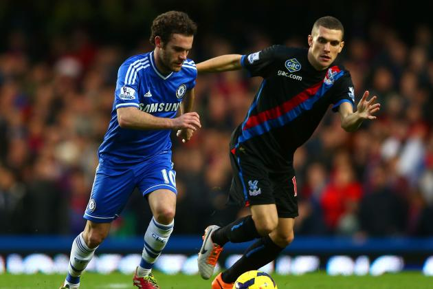 Chelsea Capitalize on Arsenal Defeat, but Are Pushed Close by Crystal Palace