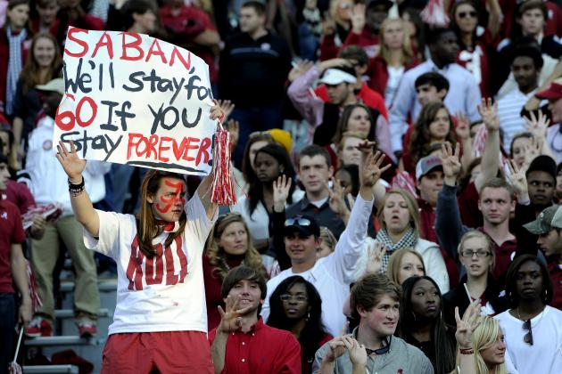 Nick Saban Contract Saga Will Make Alabama Fans Appreciate What They Have
