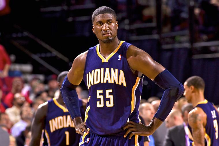 Roy Hibbert Got Bengay Where You Really Don't Want It