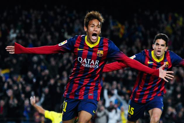Analysing Neymar's Performance vs. Villareal