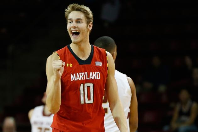 Terps Survive Scare, Ride Strong Interior Presence, 22 Layman Points to Win