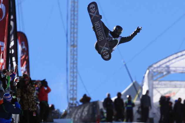 Shaun White Finishes Second in Halfpipe at ION Mountain Championships