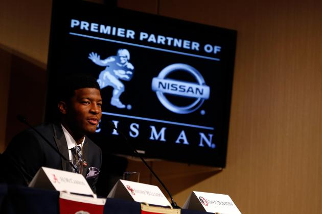 Heisman Trophy Winner 2013: Jameis Winston Has Great Chance to Win Again in 2014