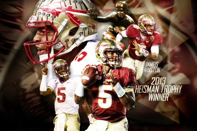 Jameis Winston Wins 2013 Heisman Trophy