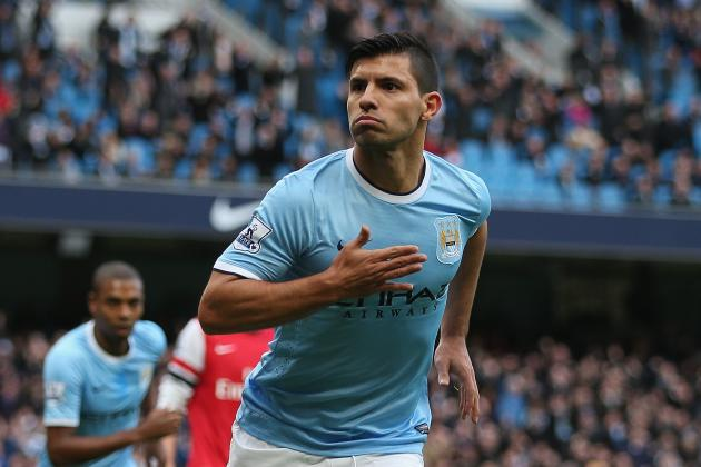 Premier League Week 16 Standout Stats: Manchester City, Suarez Score at Will