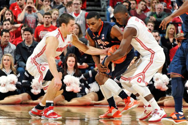 Ohio State Basketball: Is Buckeyes' Backcourt the Best Defensive Duo in CBB?
