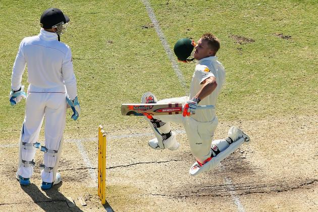 GIF: Was David Warner's Celebration Aimed Straight at Matt Prior?