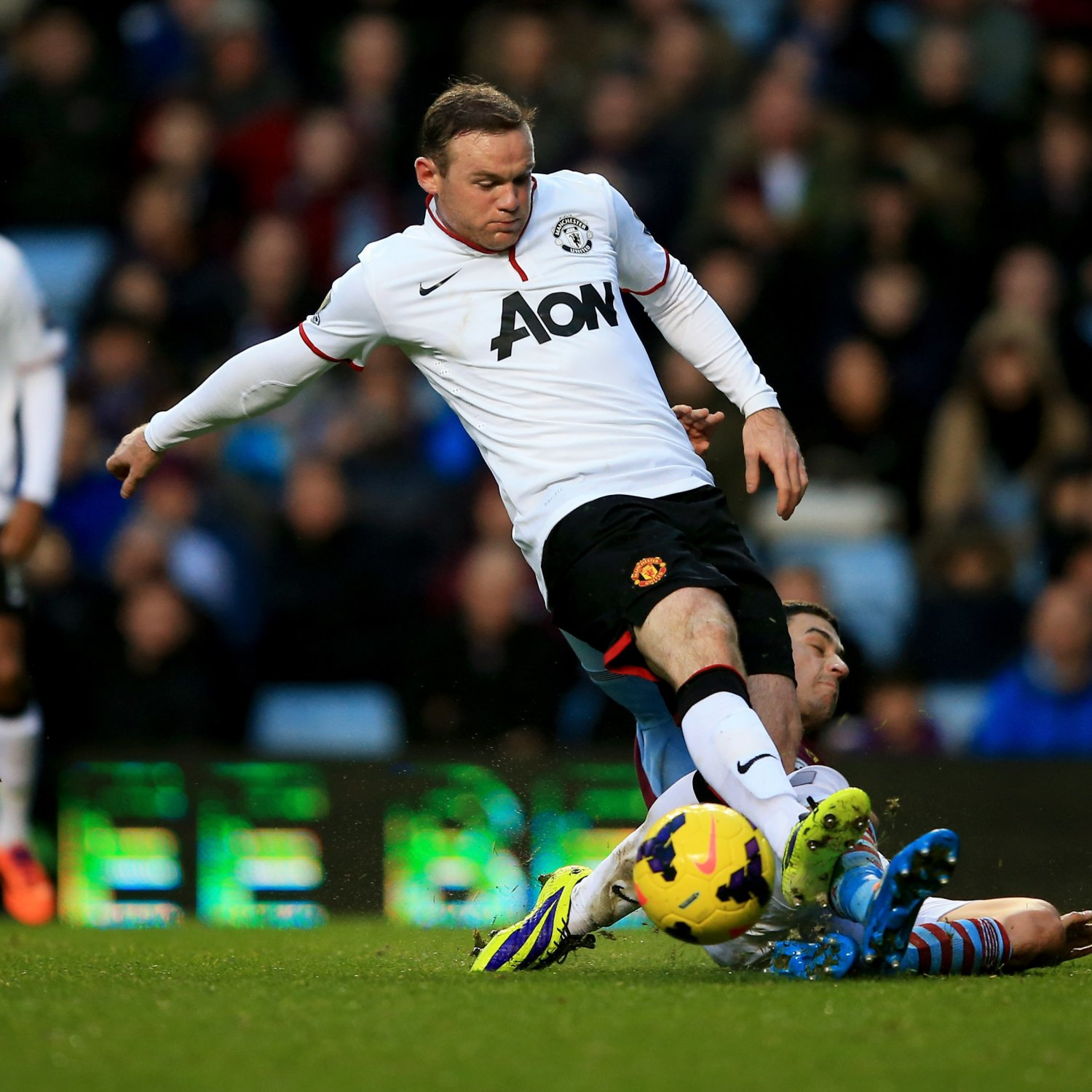 Wayne Rooney Goal Vs Aston Villa Analysing Wayne Rooney s Performance vs Aston Villa Bleacher Report