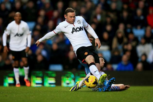 Analysing Wayne Rooney's Performance vs. Aston Villa