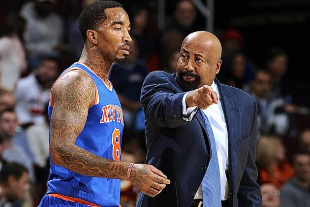 J.R. Smith, Mike Woodson Reportedly Exchanged 'Heated Words'