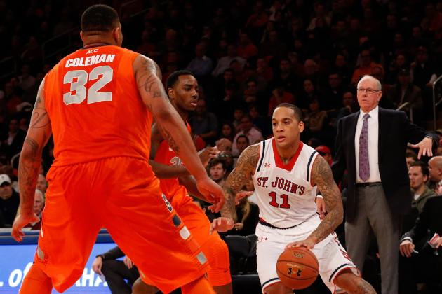 Syracuse vs. St. John's: Live Score, Updates and Analysis