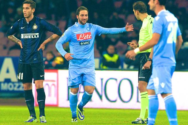 Napoli vs. Inter Milan: Serie A Live Score, Highlights, Recap