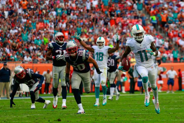 New England Patriots vs. Miami Dolphins: Live Grades and Analysis for Miami
