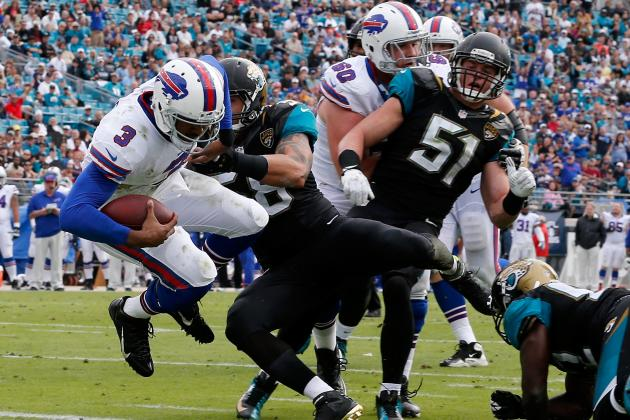 Manuel Leads Bills to 27-20 Win at Jaguars