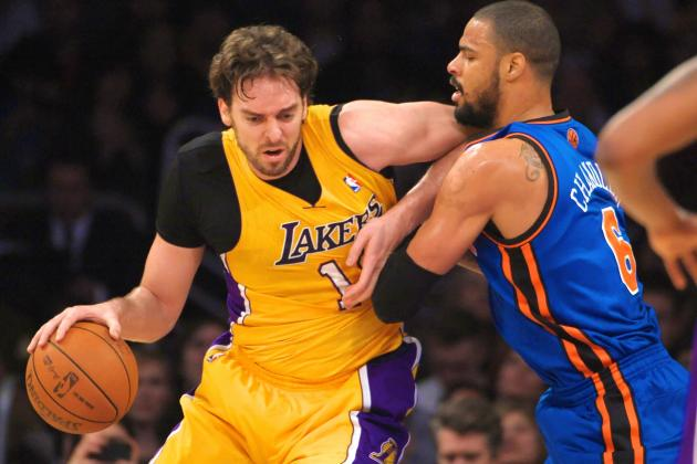 Could Pau Gasol-for-Tyson Chandler Trade Benefit Both Knicks and Lakers?
