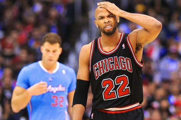 Is Taj Gibson Part of Chicago Bulls' Future or Just a Trade Chip?
