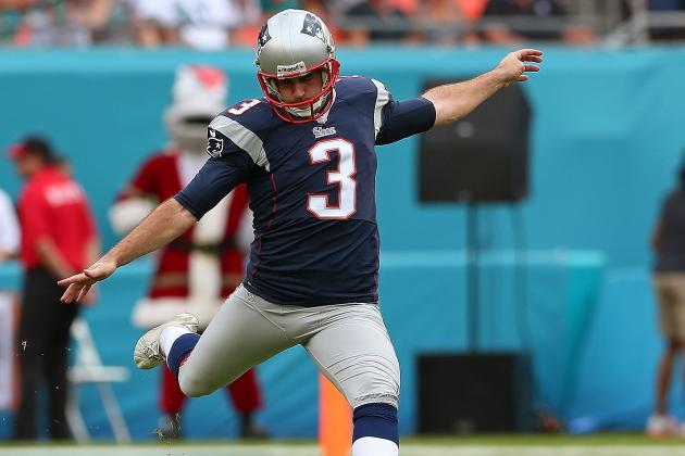 Gostkowski 'Trying to Kill the Ball' on Kickoff