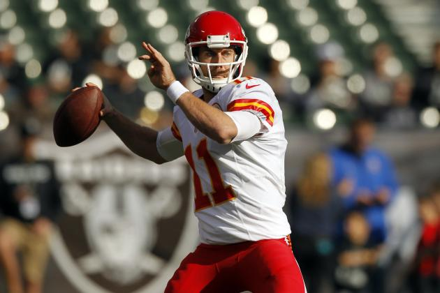 Alex Smith's Instant Fantasy Reaction After Week 15