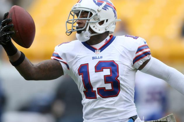 Stevie Johnson Mourns Mother's Death with His Bills Brothers