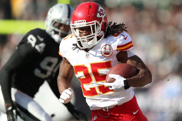 Jamaal Charles Will Continue to Carry Fantasy Football Owners in Week 16