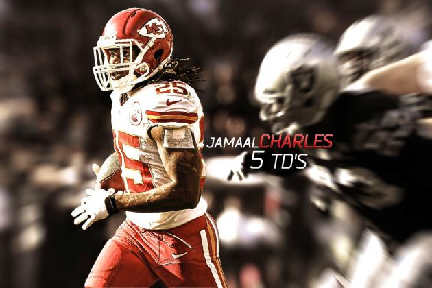 Jamaal Charles' Instant Fantasy Reaction After Week 15