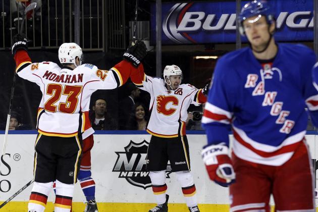 Live: Calgary at NY Rangers